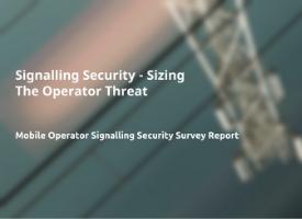 Free Report: Operator Signalling Security