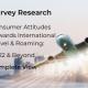 Consumer Attitudes Towards International Travel & Roaming: 2022 & Beyond