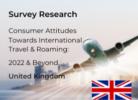 United Kingdom Attitudes Towards International Travel & Roaming: 2022 & Beyond